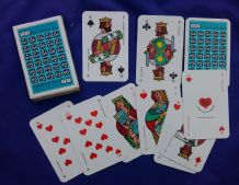 Collectible  Austrian  playing cards. Feh by the Bunzl Group co